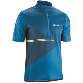 Gonso Ripo Half-Zip SS Bike Shirt Men imperial blue